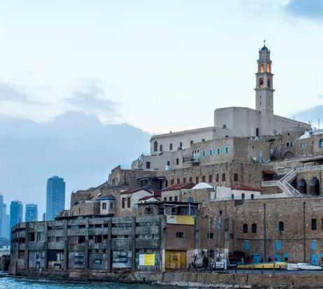 אהלן רמדאן - כנאפה, קפה ומסורת בשכונת עג'מי