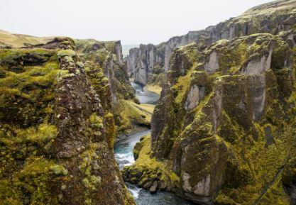 איסלנד מסע אל ארץ הקרח והאש - מסלול גאוגרפי