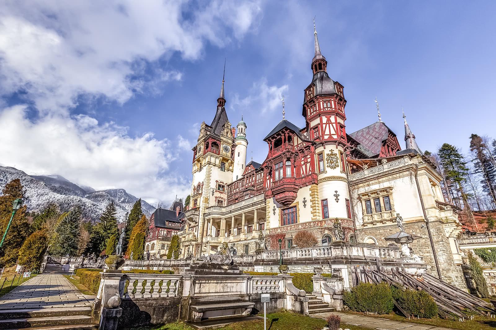 רומן קצר ברומניה כולל 2 ארוחות ערב - BUH