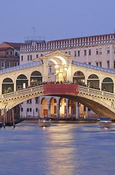 צפון איטליה, כולל בולוניה, פרארה, ברגמו, מילאנו ונציה