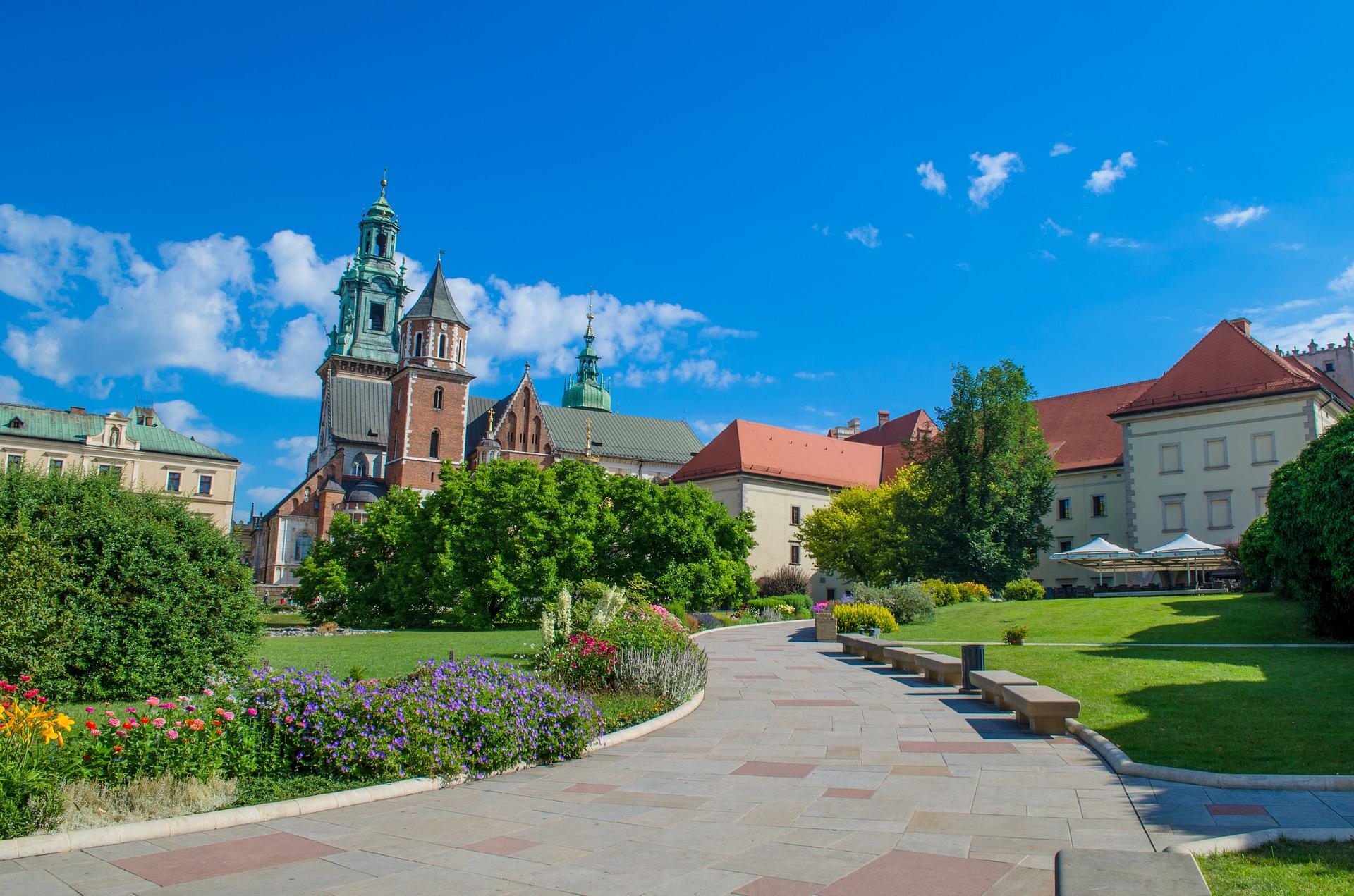 קראקוב בירת פולין בעבר