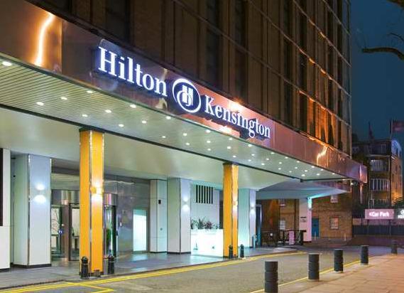 îìåï Hilton Kensington