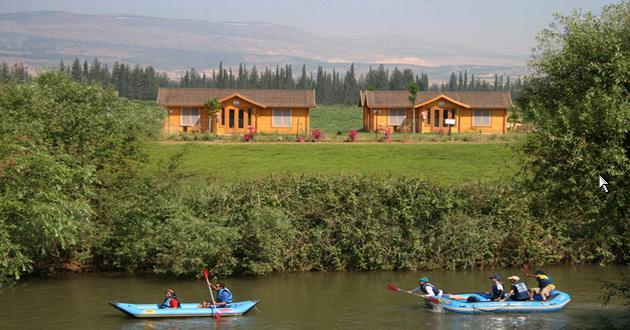 הוילג' מלון מטיילים על הירדן - שדה נחמיה